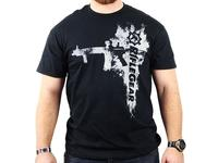 RifleGear Rifle Fashion T-Shirt, Black