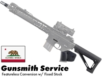 Gunsmith AR15 Featureless Conversion