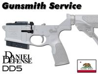 Gunsmith Install Daniel Defense DD5 Mag Catch/DFM w/ Return Shipping