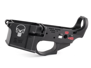 Spikes Tactical Punisher Stripped Lower with Color Fill
