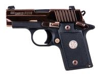 Sig Sauer P238 Polished Rose Gold .380ACP Pistol