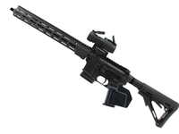"Geissele Duty 16"" 5.56mm Rifle, Black/Aimpoint PRO, Patrol Rifle Optic - CA Featureless"