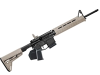 S&W M&P15 5.56 MOE SL FDE Mid Length Rifle - CA Featureless