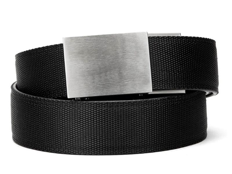 Kore Essentials X4 Stainless Buckle Black Tactical Gun Belt No one will be able to tell it's a gun belt. kore essentials x4 stainless buckle black tactical gun belt