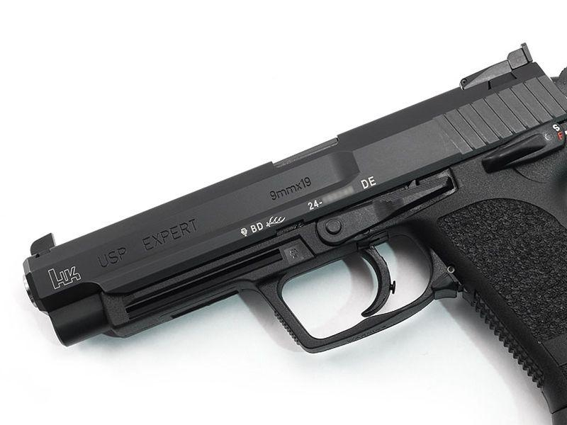 HK USP Expert 9mm 18rd w/ Jet Funnel M709080F-A5