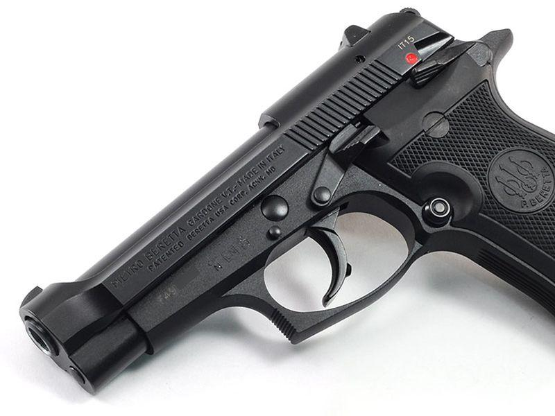 Beretta 85F Cheetah  380 DA 8rd Black