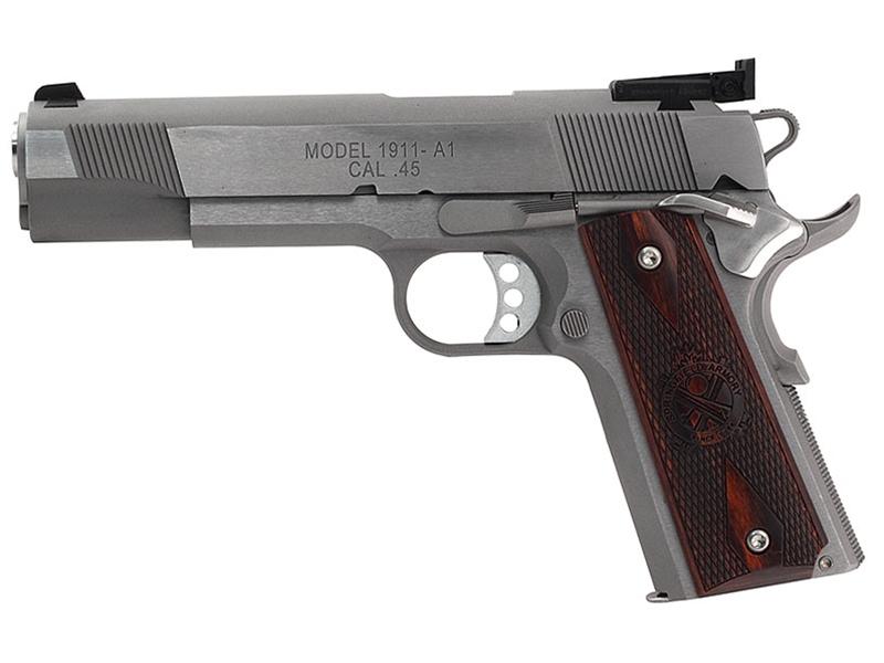 Springfield 1911 Stainless Target .45ACP Pistol - CA