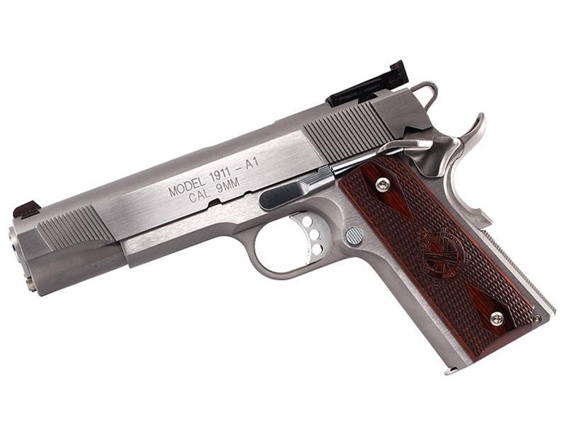 Springfield 1911 Stainless Target 9mm Pistol - CA