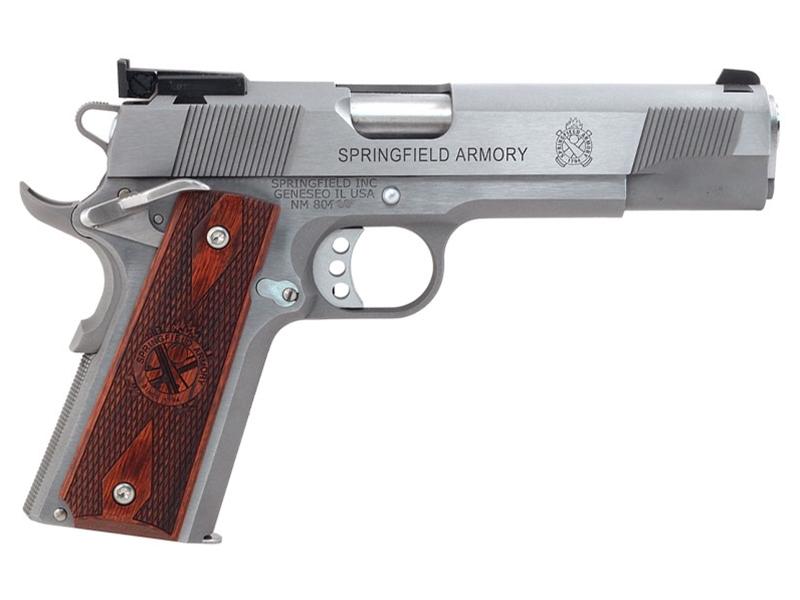 Springfield 1911 Stainless Target 9mm Pistol - CA