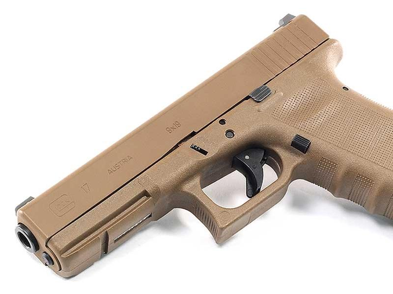 Glock 17RTF2 Full FDE Vickers Tactical