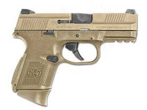 FN FNS-9C 9mm NMS Night Sight Full FDE