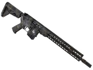 "Triarc Systems TSR-15 Service 13.9"" Black MultiCam Rifle - CA"