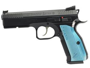 CZ Shadow 2 Black & Blue 9mm Pistol - BLEM