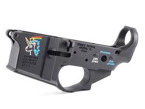 Spike's Tactical Snowflake Stripped Lower w/ Colorfill