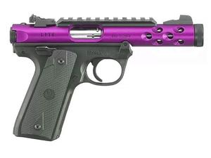 "Ruger Mark IV 22/45 Lite 4.4"" .22LR Purple TB"
