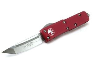 Microtech Knives UTX-85 T/E Red Satin 3.125""