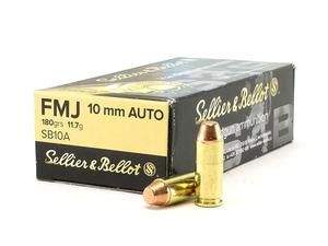 Sellier and Bellot 10mm 180gr FMJ 50rd