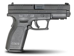 "Springfield XD9 Defenders Series 4"" Full Size 9mm Pistol 16rd"