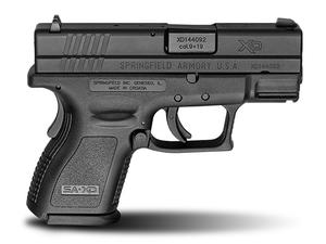 "Springfield XD9 Defenders Series 3"" Sub Compact 9mm Pistol 13rd"