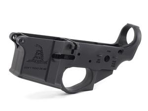 Spike's Tactical Gadsden Stripped Lower No Colorfill