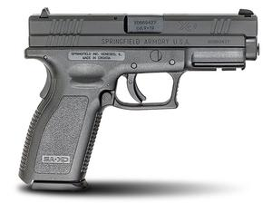"Springfield XD9 Defenders Series 4"" Full Size 9mm Pistol 10rd"