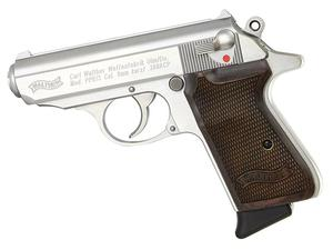 Walther PPK/S Stainless .380ACP Pistol W/ Walnut Grips Limited Edition