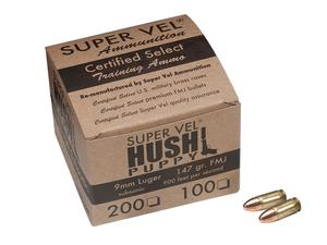 Hush Puppy Certified Select 9mm 147gr FMJ Subsonic 100rd