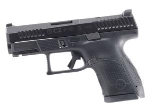 CZ USA P-10 S 9mm Black 12rd Optics Ready LE Only