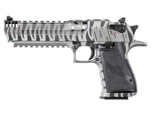 "Desert Eagle .50AE 7rd 6"" White Tiger Stripe"