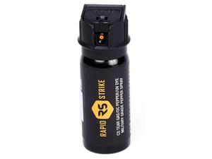 MFT/Rapidstrike Pepper Spray Mark III Tactical Flip Top, L3 CS/OC/UV, 1.8oz, Stream, Black
