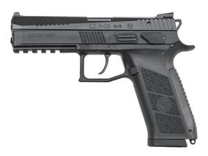 "CZ P-09 Duty 9mm Pistol 4.53"" Black - BLEM"