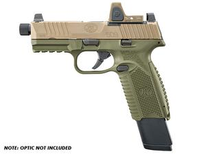 "FN 509 Tactical 9mm NMS ODG/FDE 4.5"" TB"