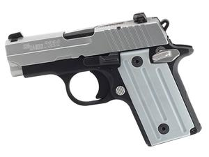 "Sig Sauer P238 .380ACP 2.7"" Two Tone Black Stainless CA"