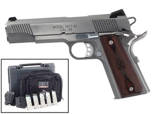 "Springfield 1911 Loaded .45ACP 5"" Stainless Instant Gear Up Package CA"