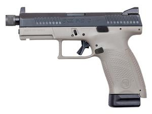 CZ P-10 Compact Urban Gray Suppressor Ready 9mm Pistol - BLEM