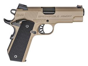 "Springfield 1911 EMP 4"" Concealed Carry Contour 9mm Pistol FDE"