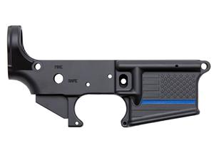 Spike's Tactical Thin Blue Line Stripped Lower