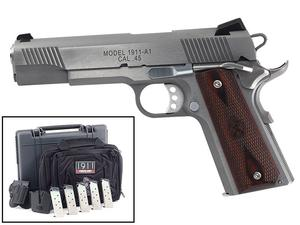 "Springfield 1911 Loaded .45ACP 5"" Stainless Instant Gear Up Package"