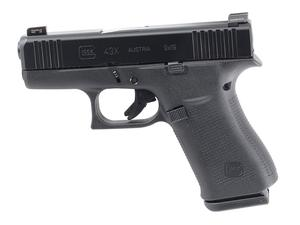 Glock 43X w/ AmeriGlo Bold Sights - Blue Label