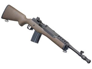 "Ruger Mini-14 Tactical 16"" 5.56mm Rifle Brown Speck Hardwood"