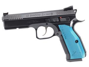 CZ Shadow 2 Black & Blue 9mm Pistol - LE Only