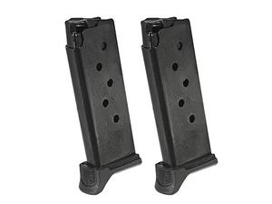 Ruger LCP II .380ACP 6rd w/ Ext Magazine - 2 Pack