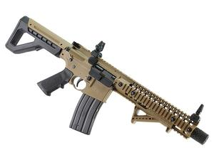 Crosman DPMS SBR Full Auto Co2 Powered Air Rifle FDE