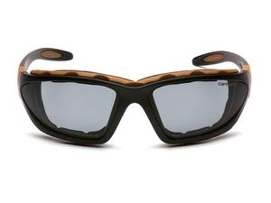 Carhartt CHB420DTP Carthage Gray Anti-Fog Lens, Black/Tan Frame