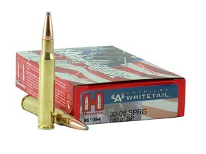 Hornady American Whitetail .30-06 Springfield 180gr SP 20rd