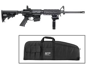 S&W M&P15 Sport II 5.56mm Rifle w/ Vertical Foregrip/Light Combo & Soft Case - CA