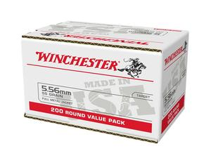 Winchester 5.56mm 55gr FMJ 200rd