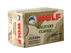 Wolf Military Classic Steel Case .223 Rem 62gr SP 20rd