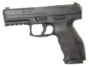 "HK VP9 9mm 4.1"" 17+1 Optics Ready LE Package"