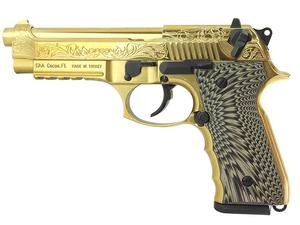 EAA Girsan Regard MC DLX 9mm 18rd Gold Pistol